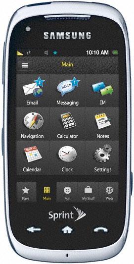 Samsung Instinct HD представлен официально
